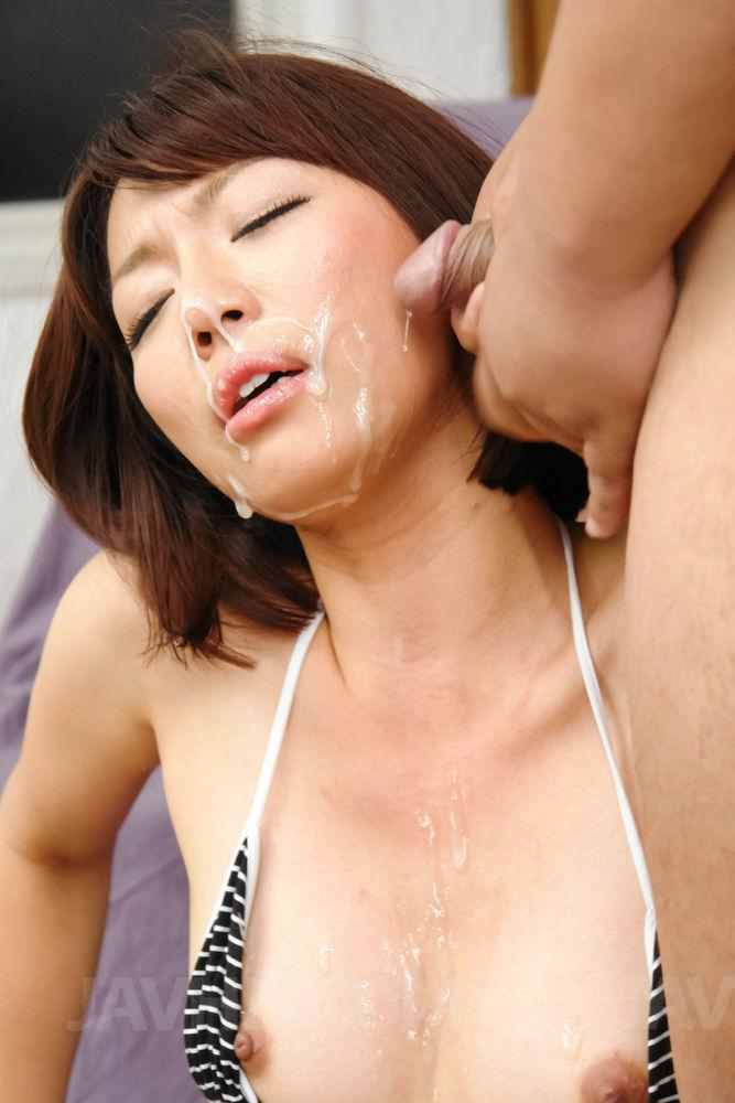 Izumi manaka hot milf gets ready for a young cock 8