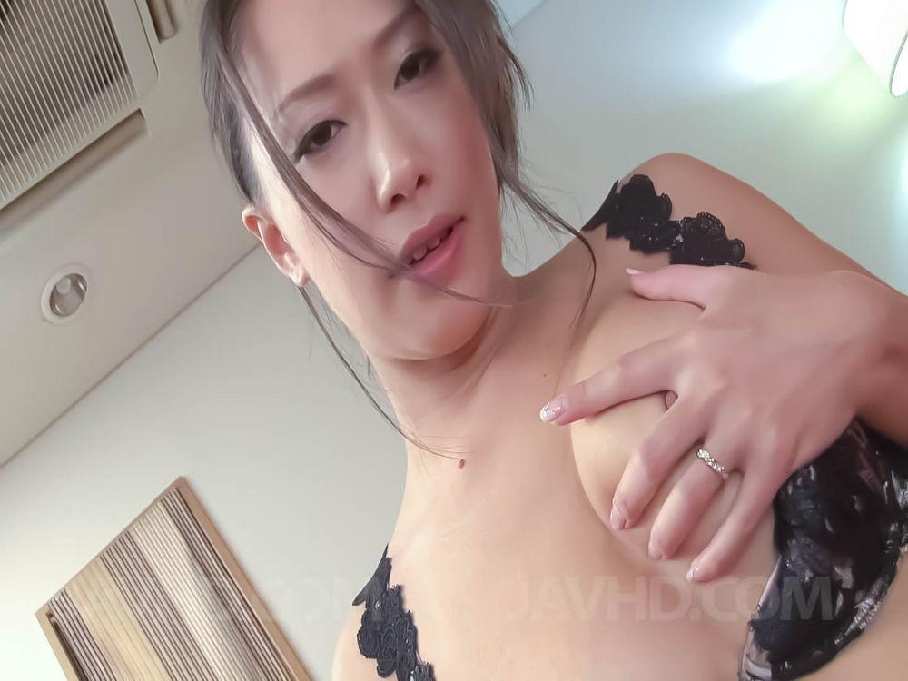 Japanese Idol Orgasm - Yayoi Yanagida Asian has orgasm from vibrator while fondling ...