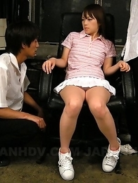 Nazuna Otoi loves to taste sperm