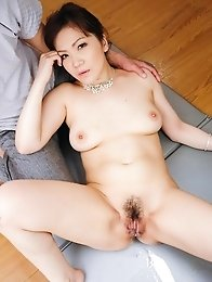Ichika Asagiri has nipples squeezed and gets vibrator in nooky