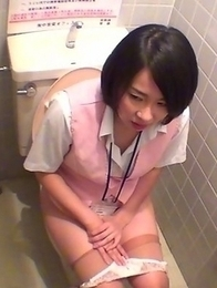 Japanese Piss Fetish Videos - Girls Pissing - Steamy Streams At A Bathhouse