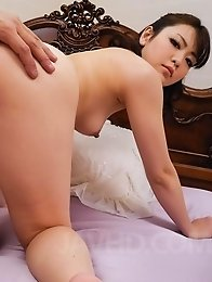 Tomoka Sakurai Asian takes cock and fingers in willing fish taco