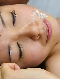 Buruma Aoi Asian gets cum in mouth after is fucked like crazy