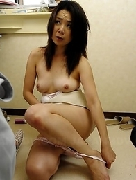 Hot cock sucking lady Nanako Misaki