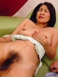 Sex toy for a lovely Asian MILF